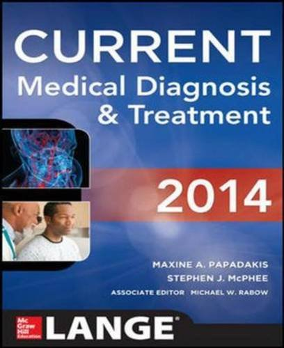9781259095221: Current Medical Diagnosis and Treatment 2014