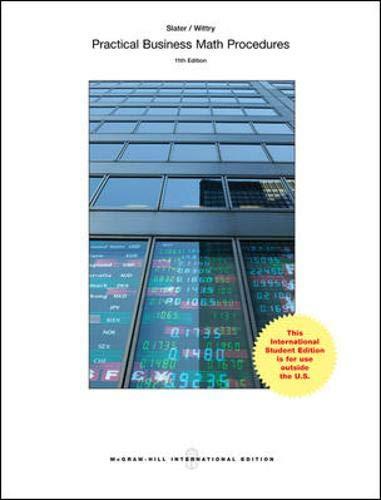 9781259095351: Practical Business Math Procedures with Handbook, Student DVD and WSJ Insert