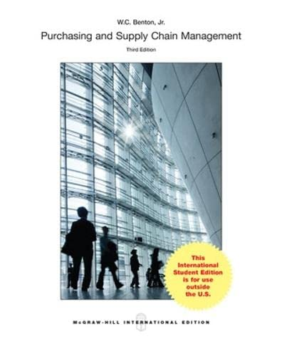 9781259095436: Purchasing and Supply Management (Int'l Ed)
