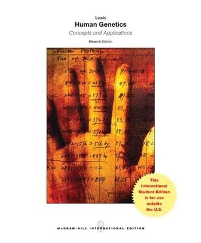 9781259095634: Human Genetics