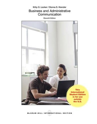 9781259095658: Business and Administrative Communication