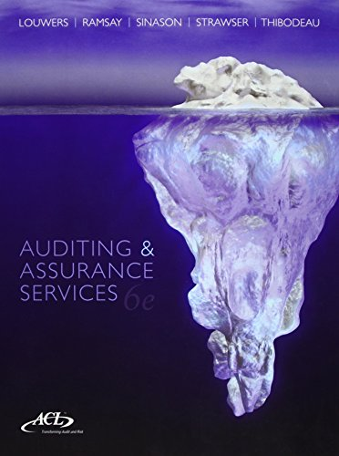 9781259095665: Auditing and Assurance Services