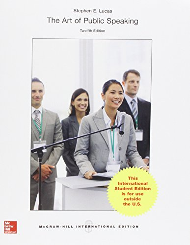 9781259095672: The Art of Public Speaking