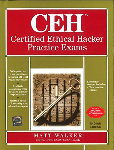 9781259096983: CERTIFIED ETHICAL HACKER PRACTICE EXAM