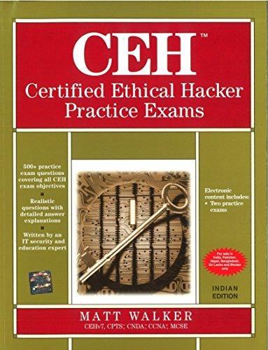 9781259096983: CERTIFIED ETHICAL HACKER PRACTICE EXAM