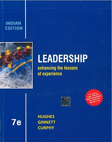 9781259097089: Leadership: Enhancing the Lessons of Experience 7th By Richard Hughes (International Economy Edition)