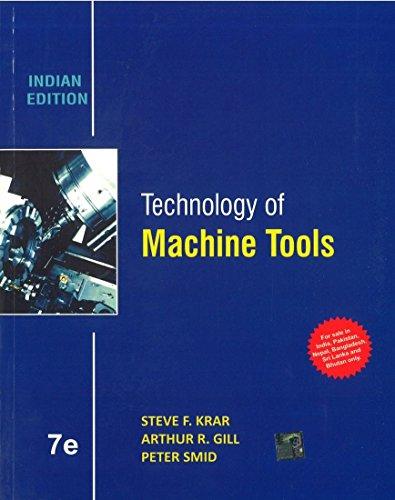 9781259097119: Technology of Machine Tools