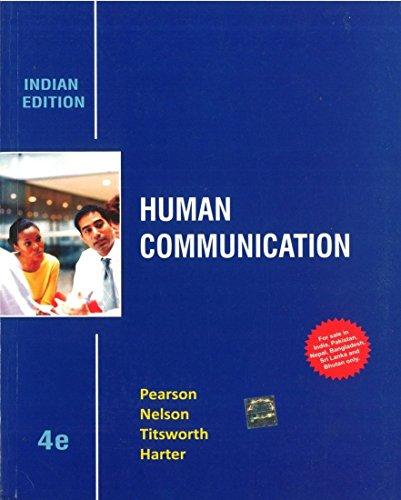 9781259097188: Human Communication 4Th Edition