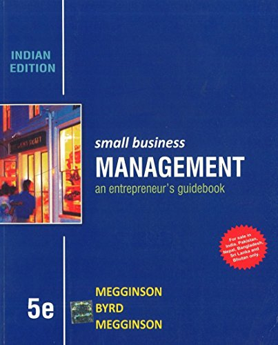 Small Business Management: an entrepreneur`s guidebook (Fifth: Leon Megginson,Mary Jane