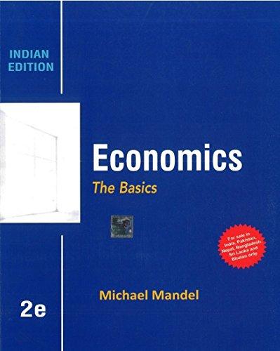 9781259097355: Economics : The Basics 2/E By Michael Mandel (Paperback) - International Ed