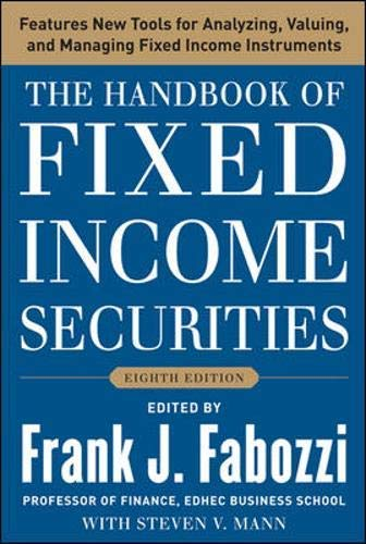 9781259098284: The Handbook of Fixed Income Securities, Eighth Edition [Hardcover]