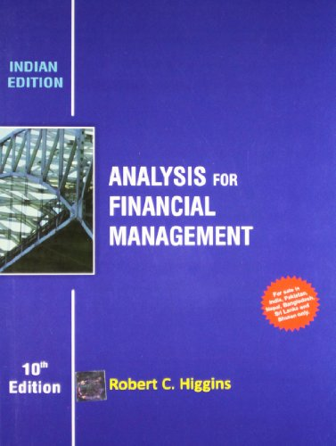 9781259098352: Analysis for Financial Management 10th Edition