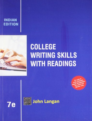 9781259098406: College Writing Skills With Readings 7th Ed