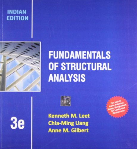9781259098444: Fundamentals of Structural Analysis