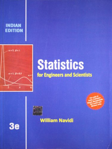 9781259098451: Statistics for Engineers and Scientists, 3rd ed.