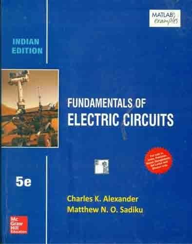 9781259098598: Fundamentals of Electric Circuits