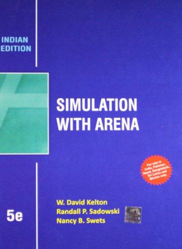 9781259098604: Simulation with Arena 5th By W. David Kelton (International Economy Edition)