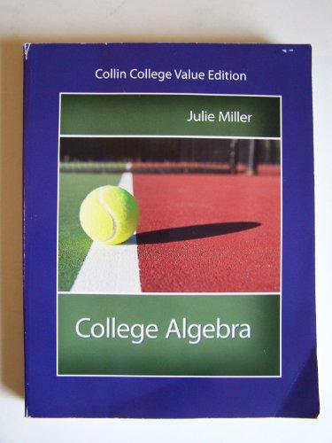 9781259110917: COLLEGE ALGEBRA >CUSTOM<