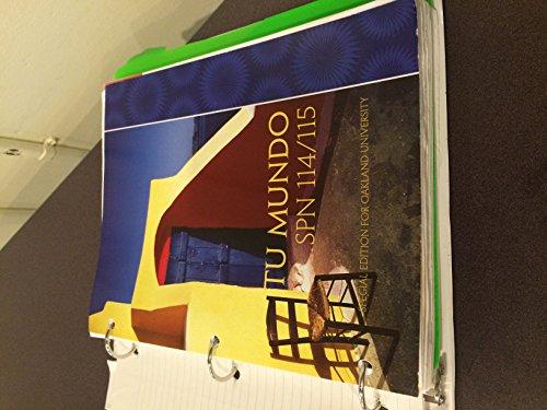 9781259112416: Tu Mundo: Oakland University SPN 114/115
