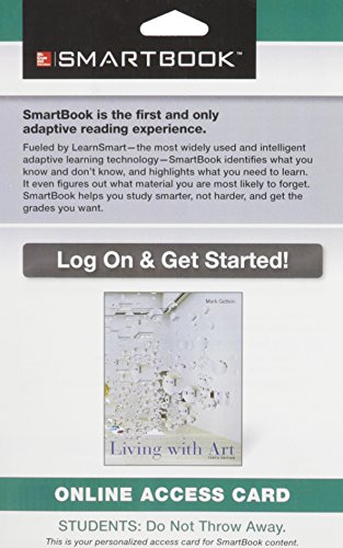 9781259112676: SmartBook Access Card for Living with Art