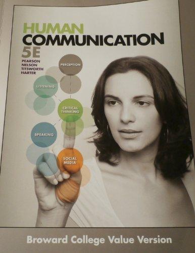9781259117213: HUMAN COMMUNICATION >CUSTOM<
