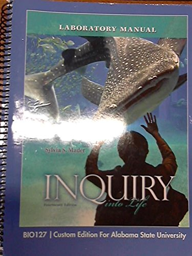 9781259119804 inquiry into life laboratory manual abebooks rh abebooks com inquiry into life lab manual 15th edition inquiry into life 15th edition lab manual answer key