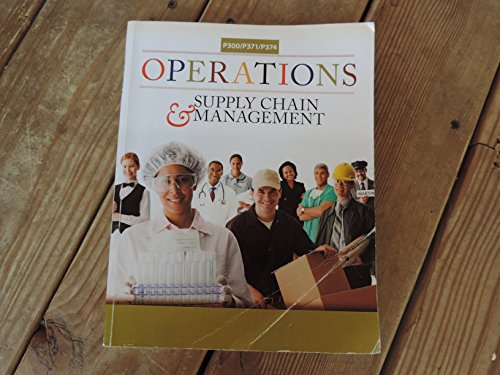 9781259120480: OPERATIONS+SUPPLY CHAIN MGMT - IUPUI