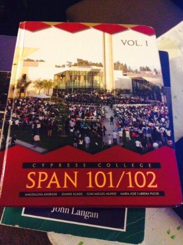 SPAN 101/102 Cypress College: Magdalena Andrade, Jeanne Egasse, Elias Munoz, Maria Jose ...