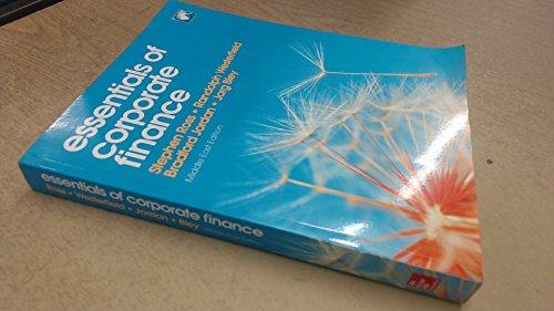 9781259123238: Essentials of Corporate Finance, 8e [Paperback]