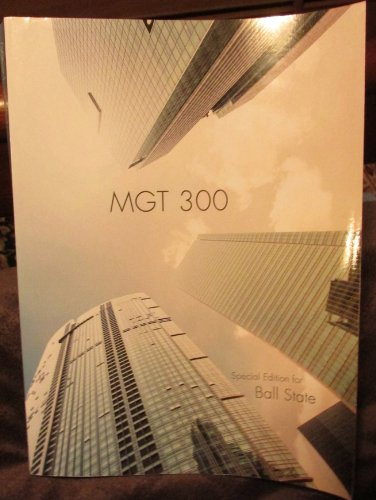 9781259124396: MGT 300 Special Edition for Ball State 8th Edition