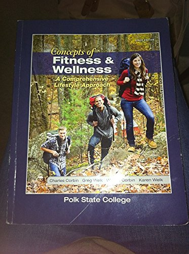 9781259124679: Concepts of Fitness & Wellness : A Comprehensive Lifestyle Approach
