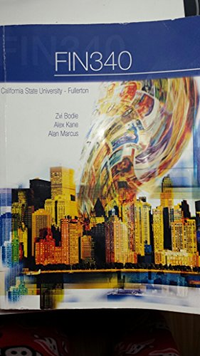 9781259125430: FIN 340 Essential of Investments 9th Edition CSUF