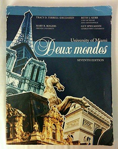 9781259127151: University of Miami: Deux Mondes, 7th Edition