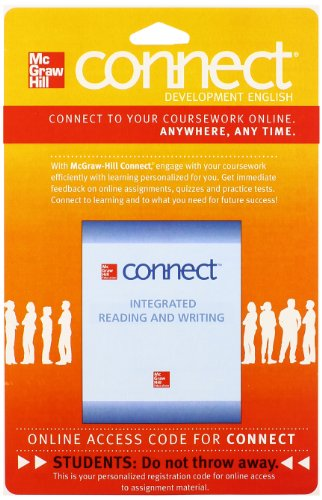 9781259127182: Connect Integrated Reading and Writing Access Card