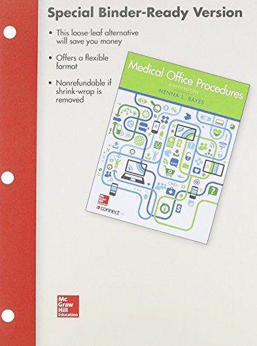 9781259127403: Loose Leaf Version of Medical Office Procedures