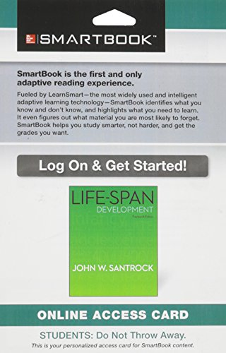 9781259128196: SmartBook Access Card for Life-Span Development