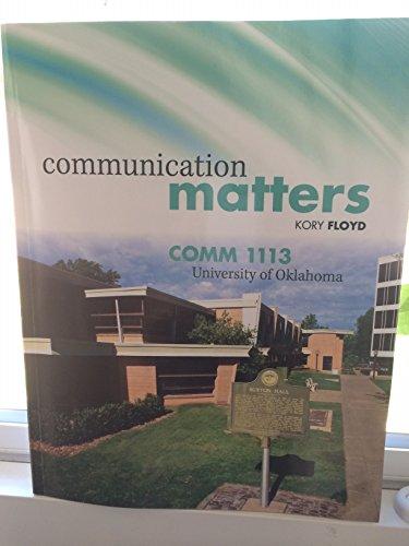 9781259128639: Communication Matters
