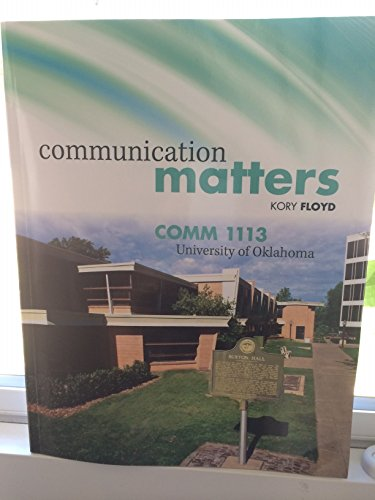 9781259128639: Communication Matters