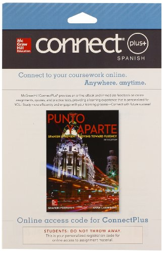 Connect Access Card for Punto y aparte: Sharon Foerster