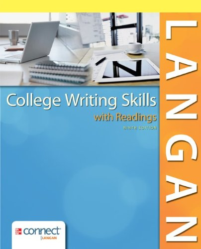 9781259129636: College Writing Skills with Readings w/ Connect Writing 2.0