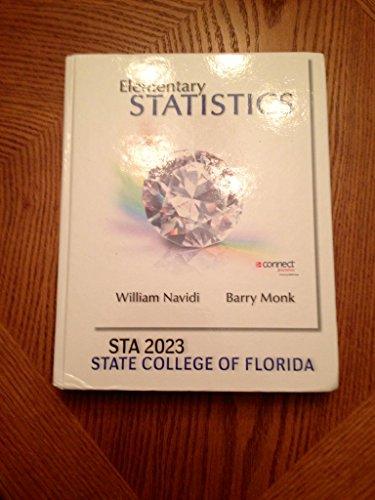 Elementary Statistics: William Navidi -