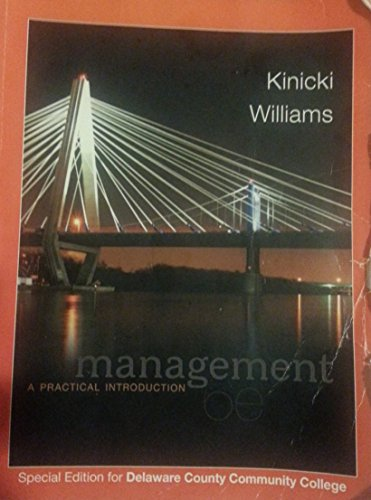 9781259132315: Management A Practical Introduction