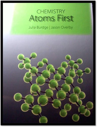 9781259132919: Chemistry Atoms First (UMBC edition)