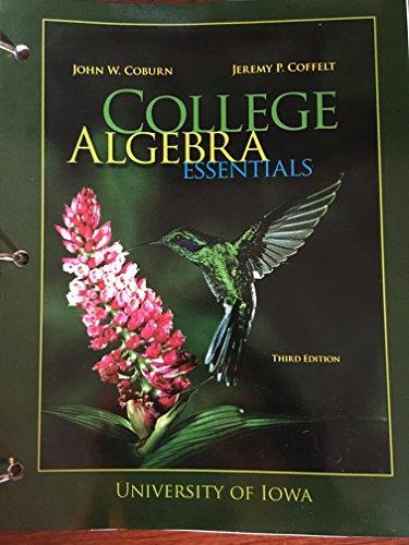 9781259132926: College Algebra Essentials