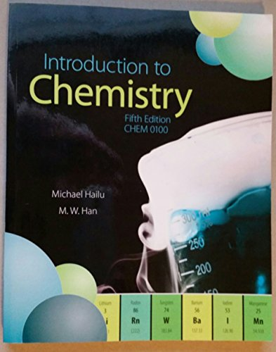 9781259133657: Introduction to Chemistry, 5e, CHEM 0100
