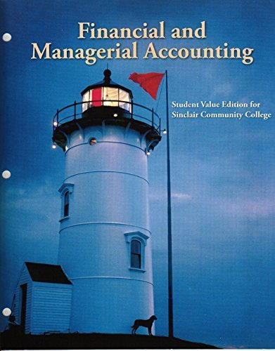 9781259134968: Financial and Managerial Accounting