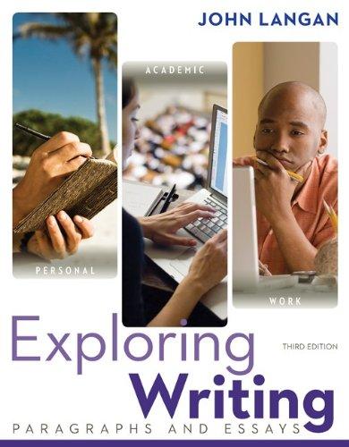 Exploring Writing: Paragraphs and Essays w/ Connect: Langan, John