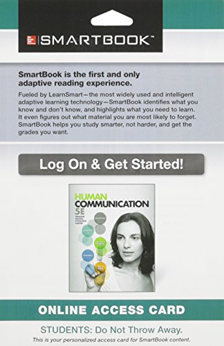 9781259138256: SmartBook Access Card for Human Communication