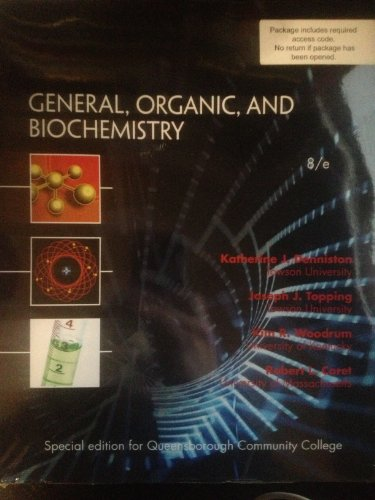 9781259138485: General, Organic, and Biochemistry 8th Edition