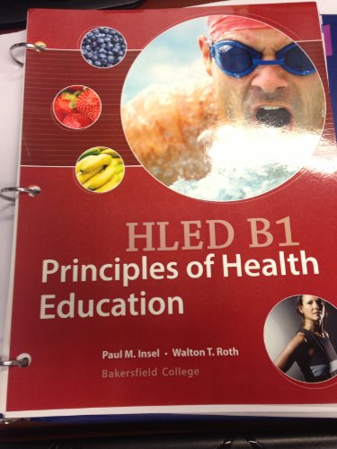 9781259138645: Principles of Health Education HLED B1 (custom Bakersfield College)
